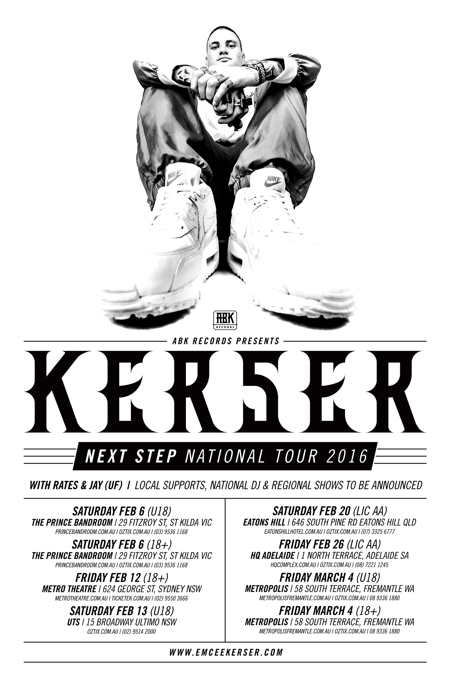 KERS 015 - Next Step Tour A2 Poster